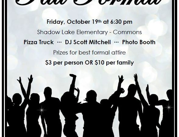 The Fall Formal is almost here!