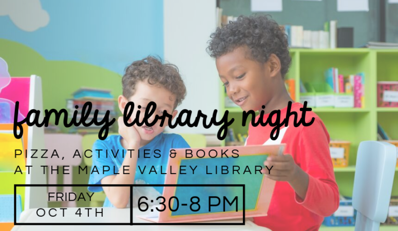 Shadow Lake Family Library Night