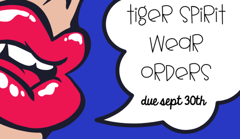 Don't miss out! Tiger Spirit Wear is here!