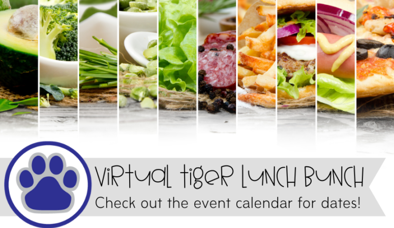 Virtual Tiger Lunch Bunch – Third Grade – Luau Theme